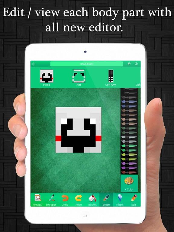 FNAF Skin Maker And Editor For Minecraft PCPE App Price Drops - Skin editor fur minecraft pe