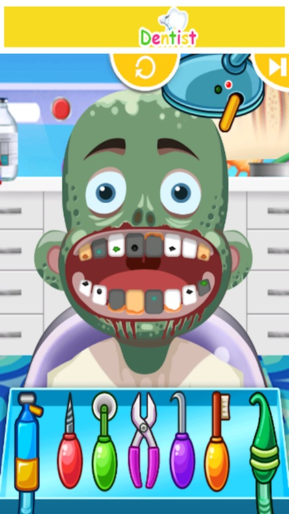 Little Dentist Clinic - kids teeth shave games for boys and girls screenshot-3
