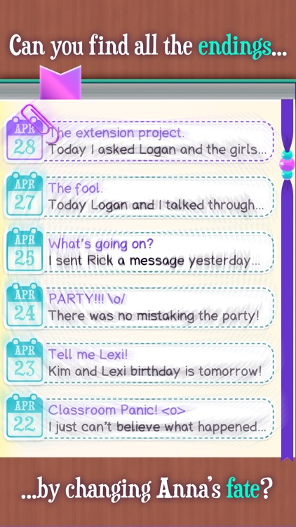 Dear Diary - Interactive Story screenshot-4