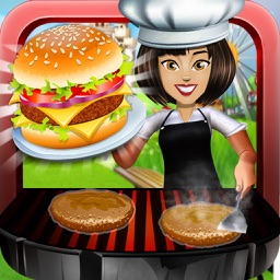 Theme Park Fast Food Cafe : Master-Chef Ham-burger n Pizza Cooking Restaurant pro