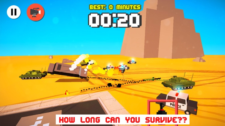 Drifty Dash  - Smashy Wanted Crossy Road Rage - with Multiplayer screenshot-3