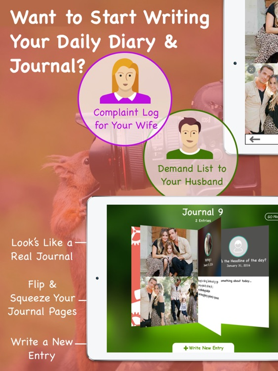 Journal 9 Pro - Diary With Lock & Personal Journal