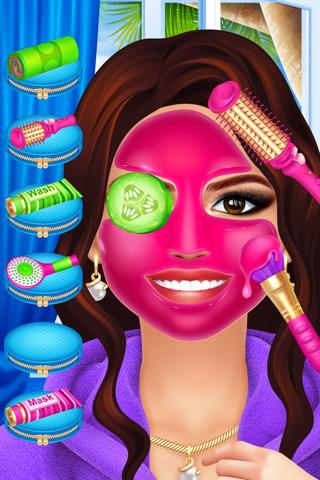 Celebrity Fashion Makeover Salon - Spa Kids Games - náhled