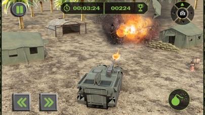 Ejército Carga Avión Vuelo Simulador: Transporte Guerra Tanque en Campo de batallaCaptura de pantalla de5