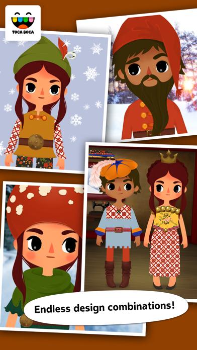 Toca Tailor Fairy Tales app image