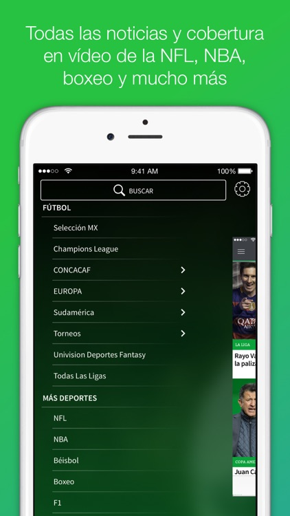 Univision Deportes: Liga MX, MLS, Fútbol En Vivo screenshot-4