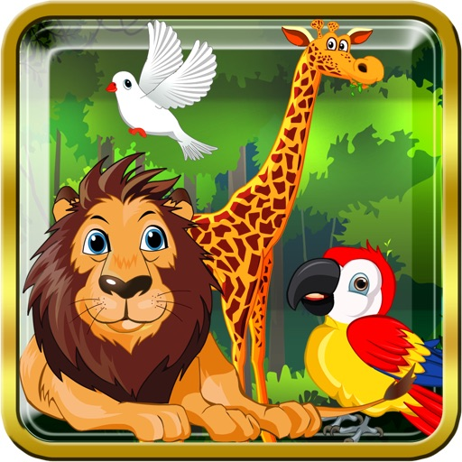 Jungle Safari Explorer – Interactive Learning Game To Recognize Animal And Bird Names And Shapes For Preschool Kindergarten Kids & Primary Grade School Children