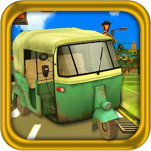 3 Wheel Drive Challenge : Tuk Rickshaw