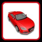 parque de coche deportivo juego de conducción de la ciudad icon