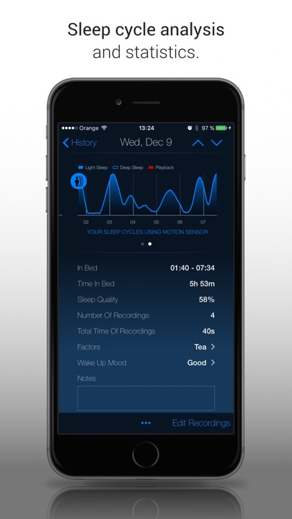 Clever Alarm Clock & Recorder screenshot-1