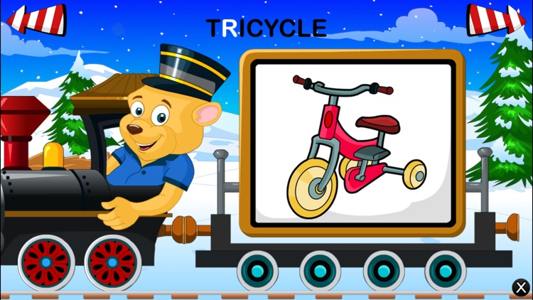 Alphabet Train For Kids - Learn ABCD screenshot-3
