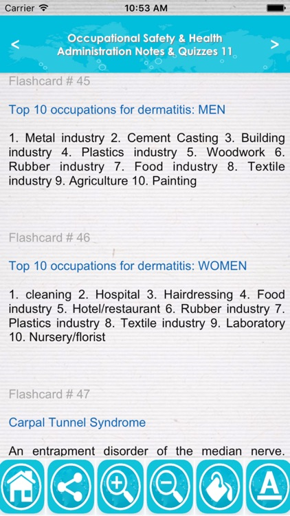 Occupational Safety & Health Administration : 1000 Quiz & Study Notes