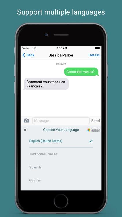 Transbot - Language Translation Keyboard screenshot-3