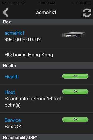 Screenshot of Network Box