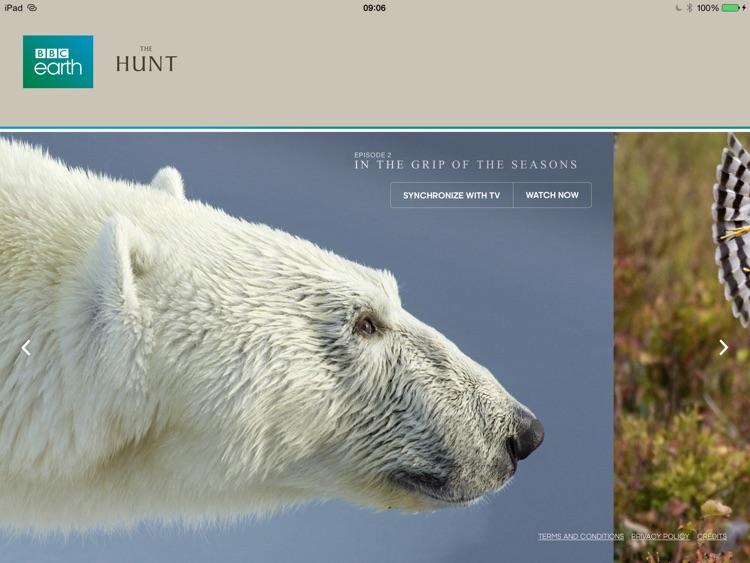 The Hunt - BBC Earth - Natural History Interactive TV Series screenshot-0