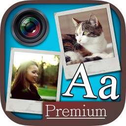 Write in photos - edit images with text - Premium
