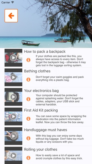 3e9d87dfd4 Packnomad - pack your bag on the App Store