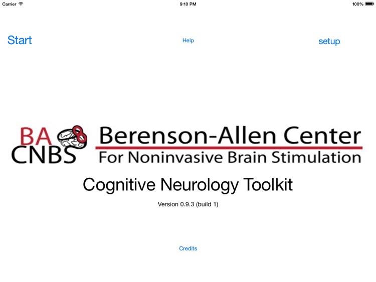 CognitiveNeurologyToolkit