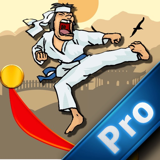 Teenage Karateka Run PRO - Fun Jump Mobile