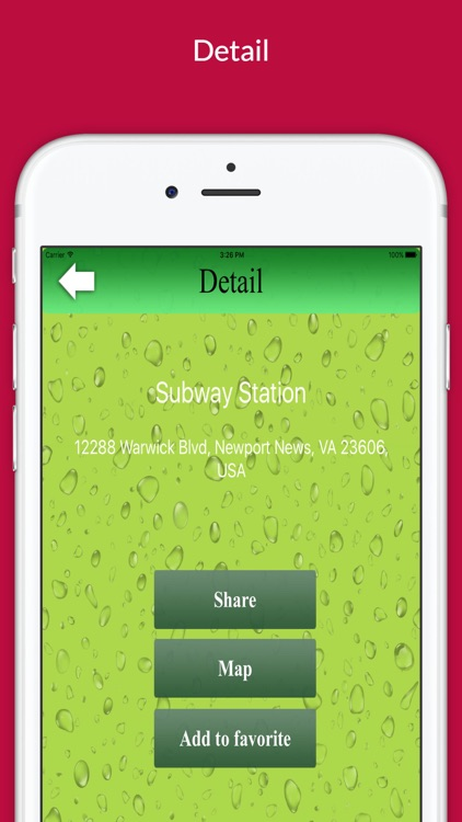 "Find Restaurant ""For Subway"" screenshot-4"