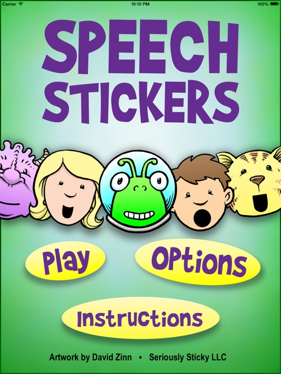 SpeechStickers screenshot-0