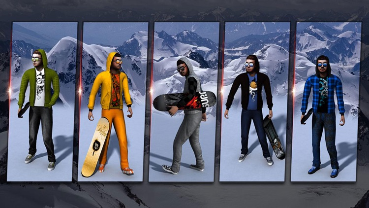 Snowboard Extreme Mountain Freestyle Winter Sports Snowboarding Game screenshot-3