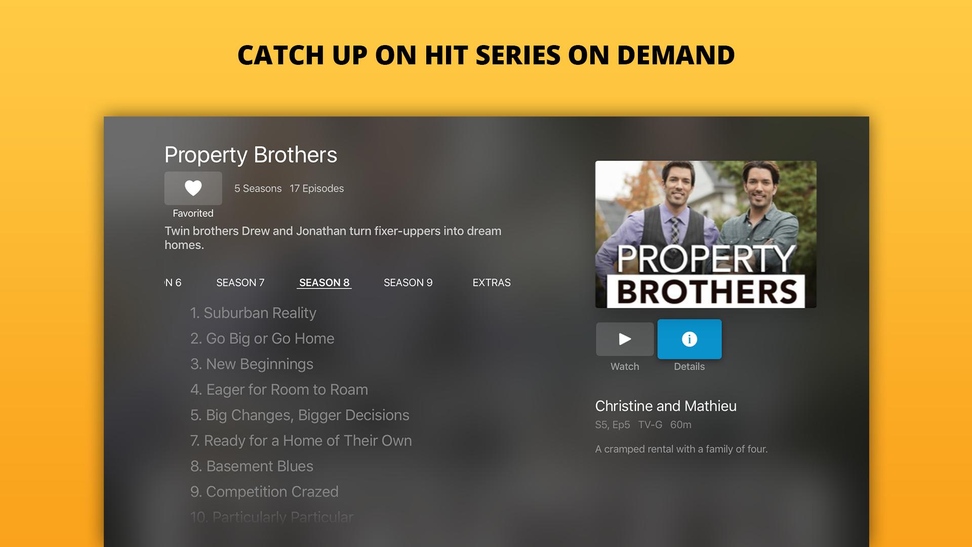 Sling: Live TV, Shows & Movies screenshot 13