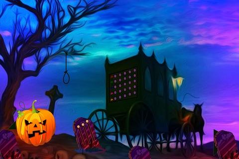 Creepy Halloween Graveyard Escape - náhled