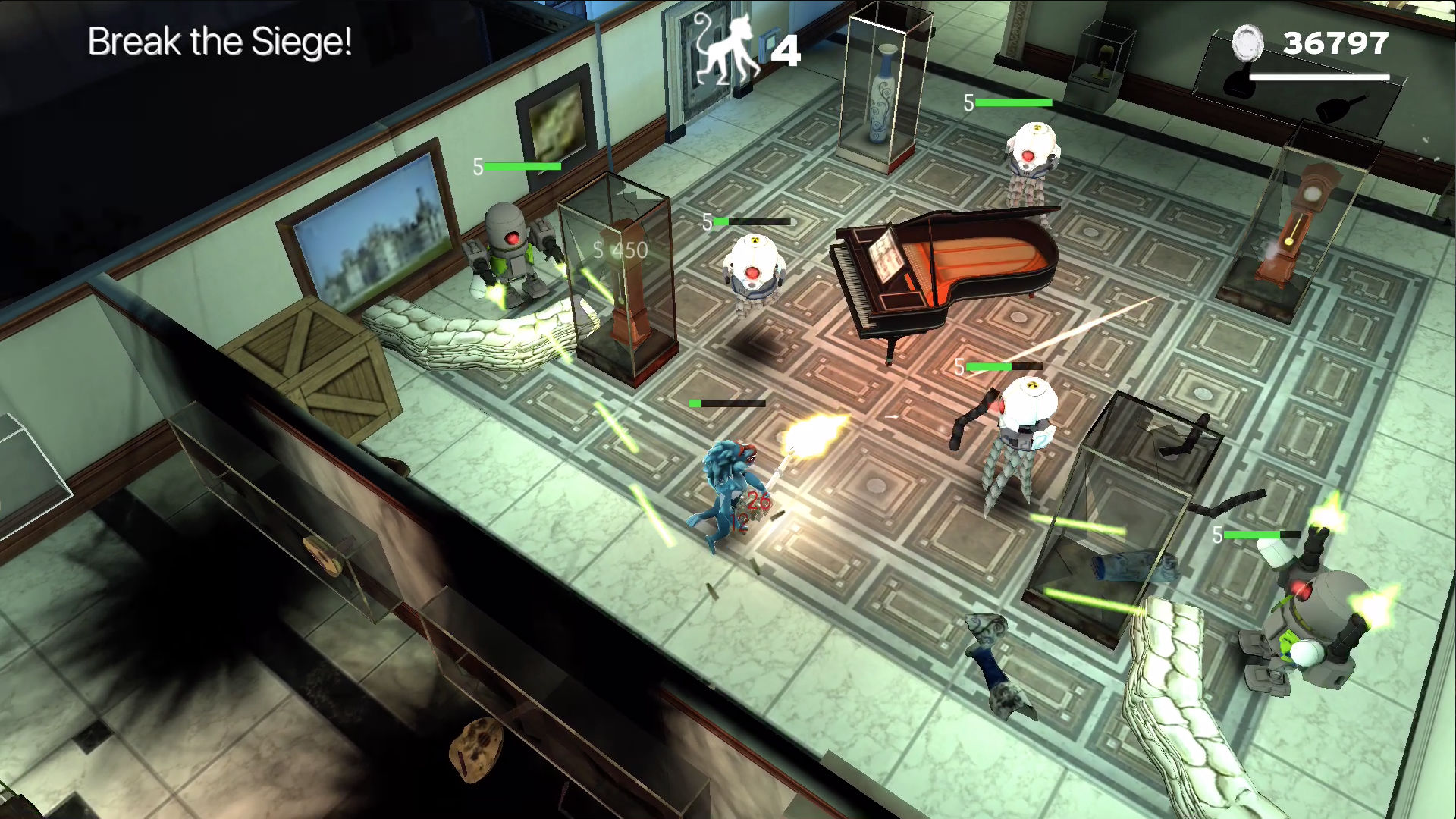 Time Monkeys - Arcade Shooter screenshot 1