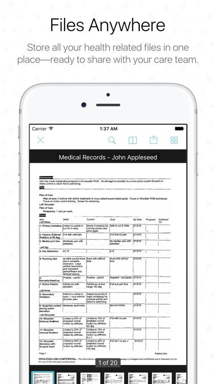 The Diary Health App screenshot-3