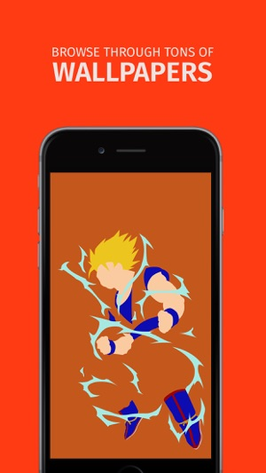 Wallpapers Dragon Ball Z Edition Im App Store
