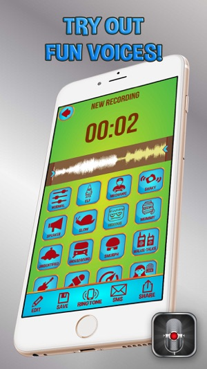 Voice Changer Recorder Pro – Funny Sound Modifier App and