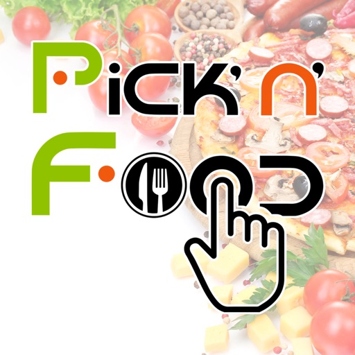 Pick'n'food application logo