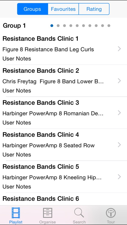 Resistance Bands Clinic