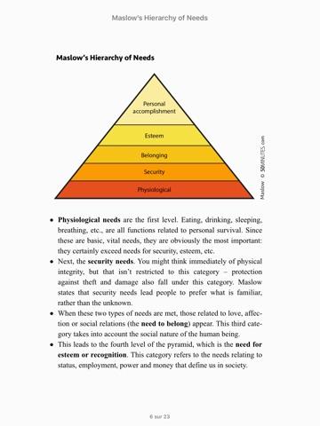 case study on maslow theory of motivation