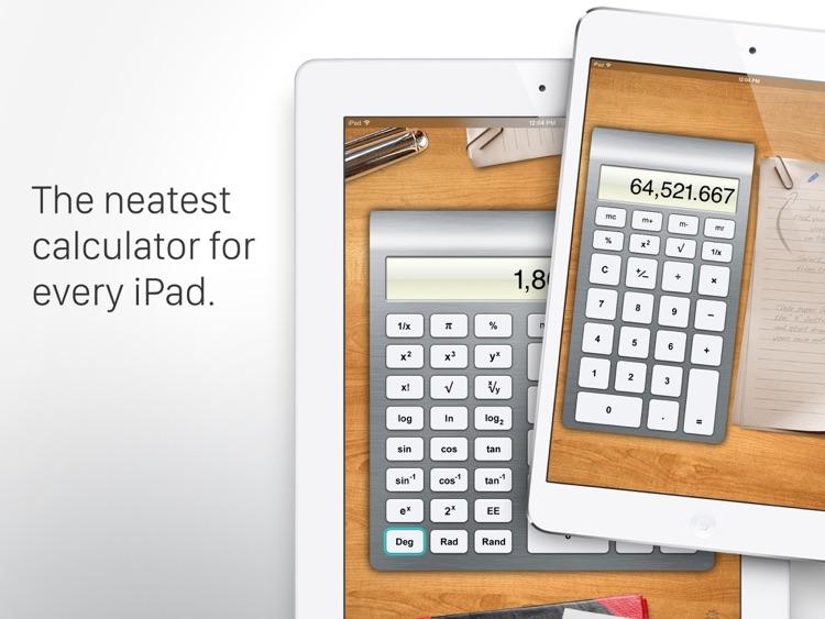 Calculator HD for iPad screenshot-4