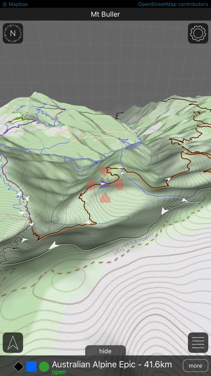 Roam MTB | 3D mountain bike trail maps screenshot-0