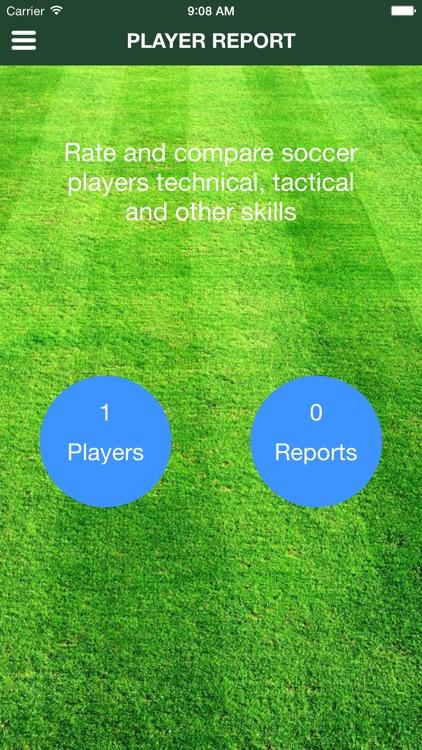 Player Report v2