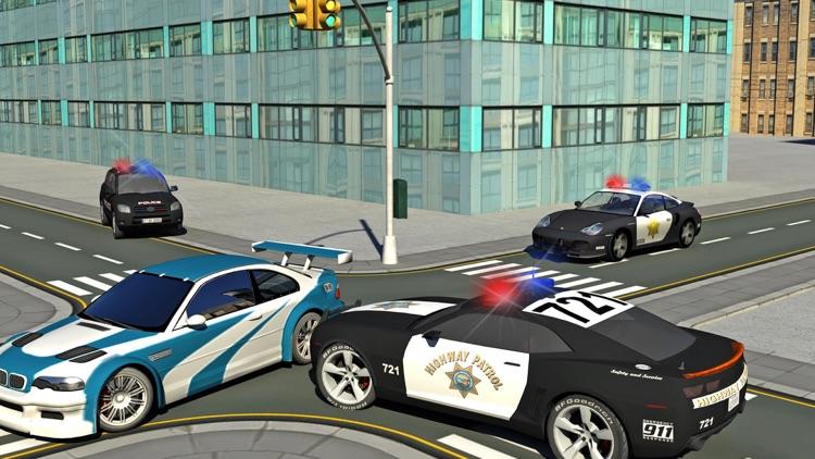 SWAT Police car vs Grand Rokeman Crime Simulator screenshot-3