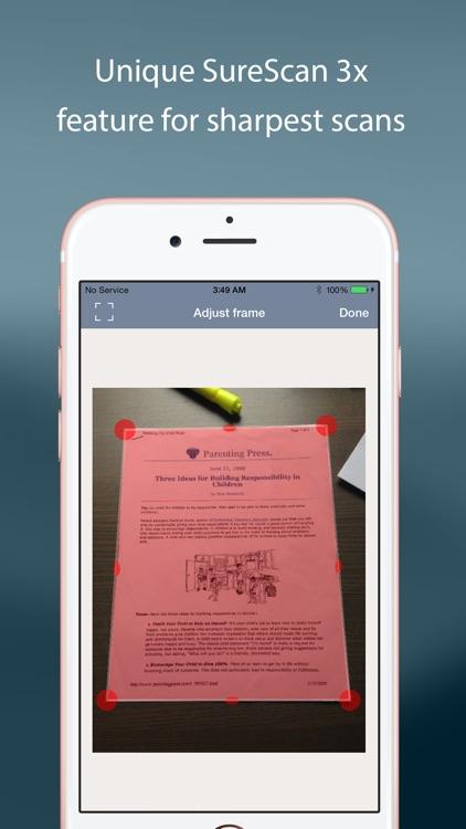 TurboScan™: document scanner screenshot-4