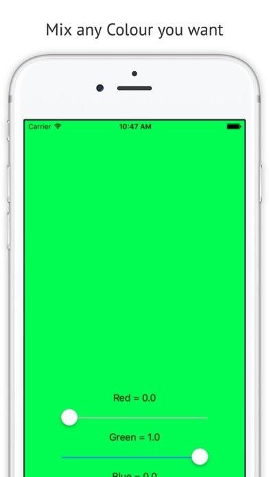 RGB Colour screenshot two