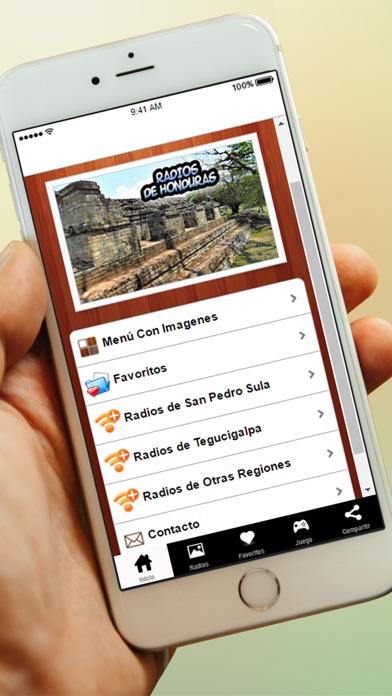 Radios de Honduras y Emisoras Gratis AM FM screenshot two
