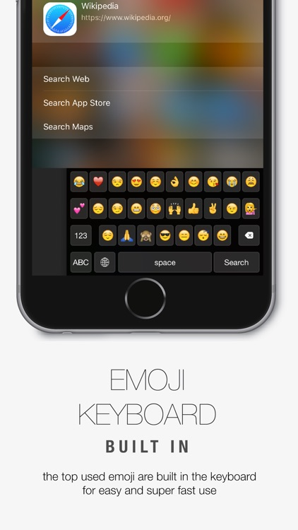 Reachability Keyboard - One-Hand Typing + EMOJI