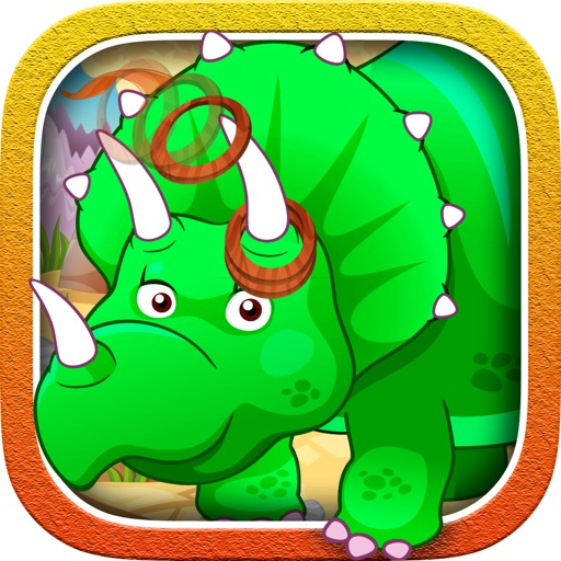 Kids Toss Slots onto the Dinosaur - fun games for the family