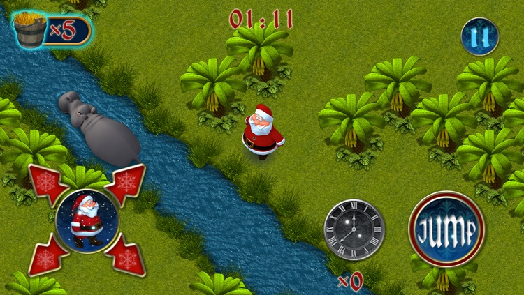 Santa's Reindeer Hunt 2 - Mega 3D Christmas Maze screenshot-2