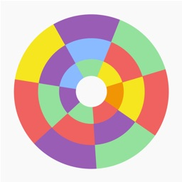 Spin It: A game about matching threes & fours!