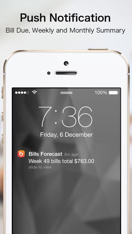 Bills Forecast screenshot-4