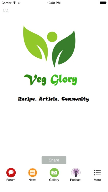 Veg Glory - Connect with vegetarians and vegans friends around the world
