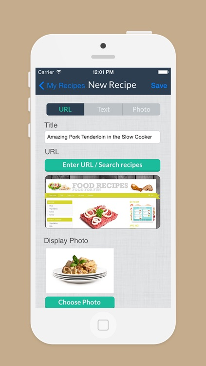 Week Menu - Plan your cooking with your personal recipe book - iPhone Edition screenshot-3