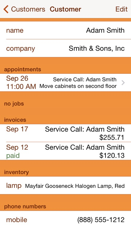 Service Call screenshot-3
